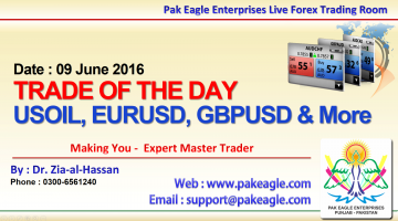 todays trading overview free urdu hindi trading analysis and training in pakistan 09 june 2016 - Live Forex Trading Room