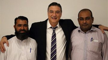 Dr. Zia-al-Hassan With FXTM Team In Pakistan