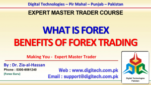 What Is Forex And Benefits of Forex Trading In Urdu Hindi