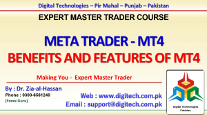 Features And Benefits Of Meta Trader 4 In Urdu Hindi