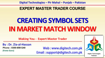 Creating Symbol Sets In Market Watch Window In MT4 In Urdu Hindi