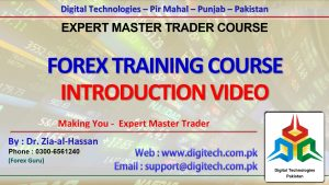 Overview Of Published Videos About Introduction To Forex Basic To Advance Concepts - Video 01-05