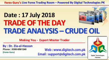 016. 17 July 2018 - Forex Guru Live Trading Room - Trades Of The Day - Crude Oil