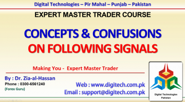 Concepts And Confusions On Following Signals And Strategies