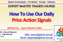 How To Use Daily Price Action Signals