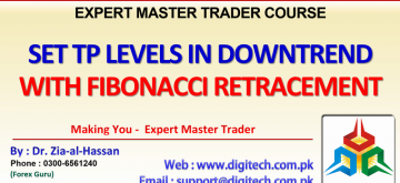 How To Apply Fibonacci Retracement In Down Trend To Get Take Profit Levels (1)