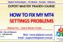 How To Fix My MT4 Settings Problems In Urdu Hindi