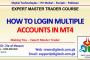 How To LogIn Multiple Accounts In MT4 In Urdu Hindi