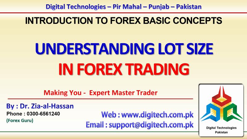 Forex Trading Online Training - Forex Trading Karachi